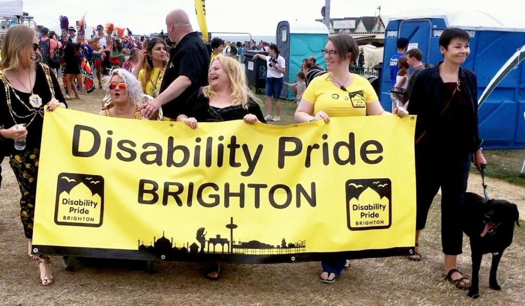 Disability Pride Brighton photograph